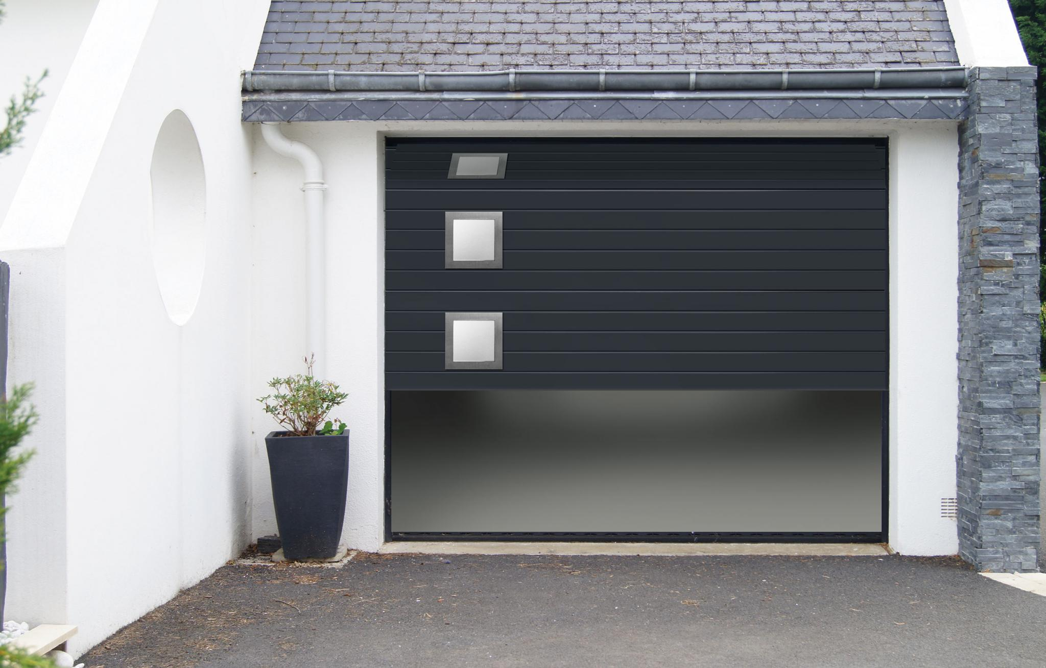 Fiable et robuste la porte de garage sectionnelle atlantem for Porte de garage xxl